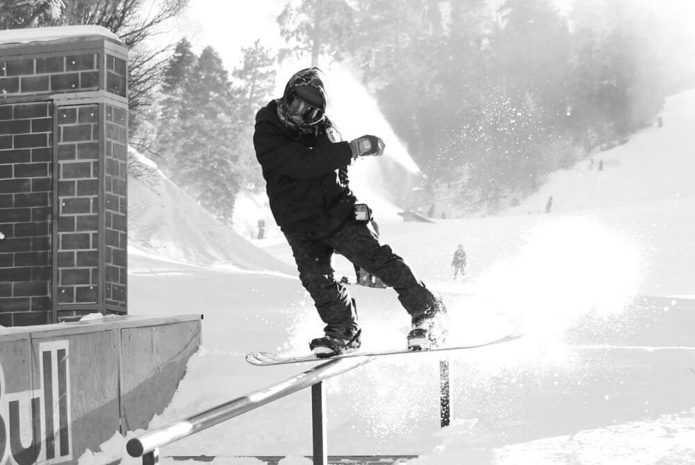 スノーボードライダー画像