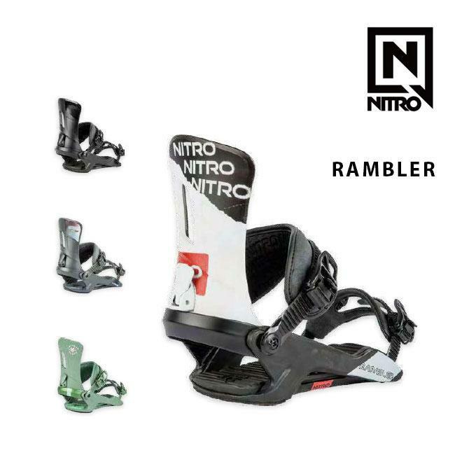 ナイトロ ビンディング NITRO RAMBLER ランブラー 19-20 MENS BINDING スノーボード